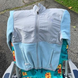 Baby blue northface